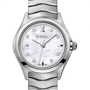 Ebel Wave Lady 1216193 Quarz Damenuhr