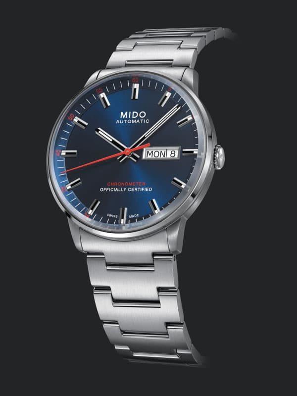 Mido Commander II Chronometer M021.431.11.041.00 Herrenuhr