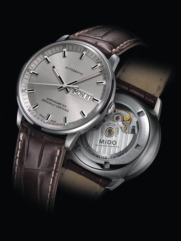 Mido Commander II Chronometer M021.431.16.071.00 Herrenuhr