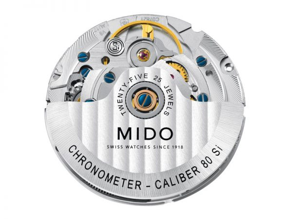 Mido Caliber 80 Si COSC Chronometer