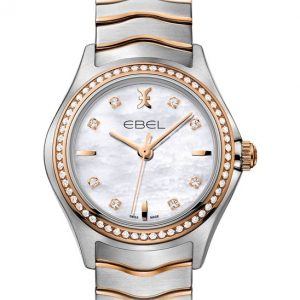 Ebel Wave Lady 1216325 Quarz Damenuhr