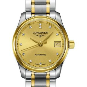 The Longines Master Collection L2.257.5.37.7 Damenuhr