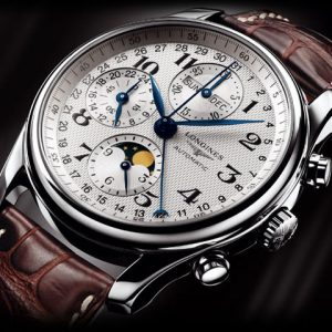 The Longines Master Collection L2.673.4.78.3 Chronograph Mondphase