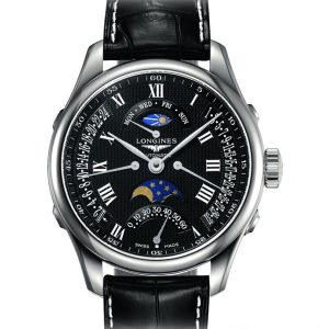 The Longines Master Collection L2.738.4.51.7 Retrograde Mondphase