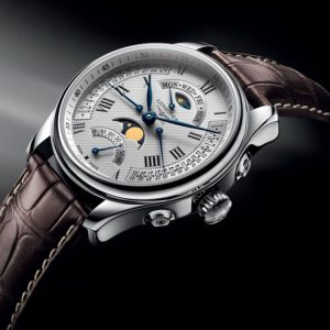 The Longines Master Collection L2.738.4.71.3 Retrograde Mondphase