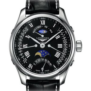 The Longines Master Collection L2.739.4.51.7 Retrograde Mondphase