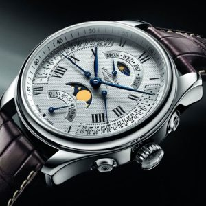The Longines Master Collection L2.739.4.71.3 Retrograde Mondphase