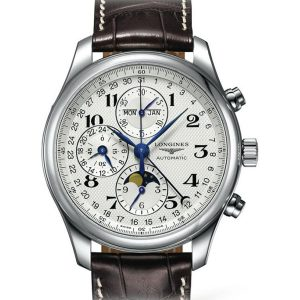 The Longines Master Collection L2.773.4.78.3 Chronograph Mondphase