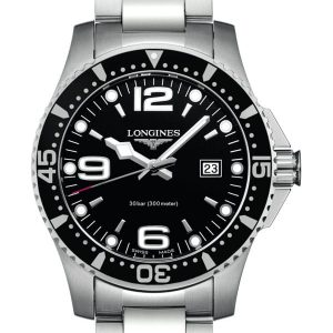 Longines HydroConquest Quarz L3.730.4.56.6 Herrenuhr