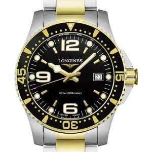 Longines HydroConquest Quarz L3.740.3.56.7 Herrenuhr