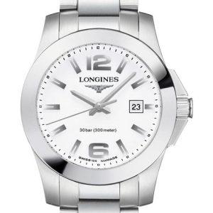 Longines Conquest Quartz L3.376.4.16.6 Damenuhr