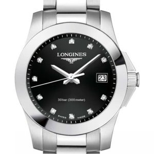 Longines Conquest Quartz L3.376.4.57.6 Damenuhr