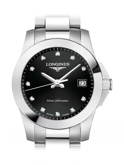 Longines Conquest Quartz L3.376.4.57.6 Damenuhr