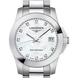 Longines Conquest Quartz L3.376.4.87.6 Damenuhr