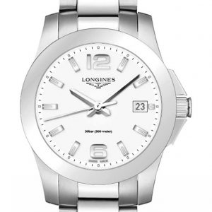 Longines Conquest Quartz L3.377.4.16.6 Damenuhr
