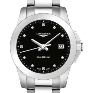 Longines Conquest Quartz L3.377.4.57.6 Damenuhr