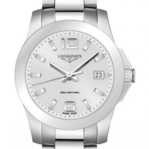 Longines Conquest Quartz L3.377.4.76.6 Damenuhr