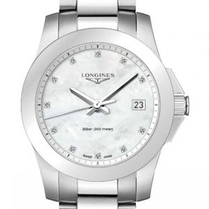 Longines Conquest Quartz L3.377.4.87.6 Damenuhr