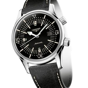 The Longines Legend Diver Watch L3.774.4.50.0 - Longines Heritage Collection