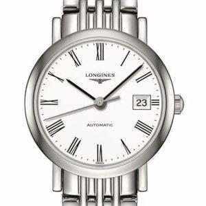 The Longines Elegant Collection L4.309.4.11.6 Automatic Damenuhr
