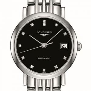 The Longines Elegant Collection L4.309.4.57.6 Automatic Damenuhr