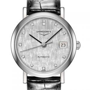 The Longines Elegant Collection L4.309.4.77.2 Automatic Damenuhr