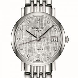 The Longines Elegant Collection L4.309.4.77.6 Automatic Damenuhr