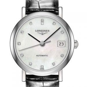 The Longines Elegant Collection L4.309.4.87.2 Automatic Damenuhr