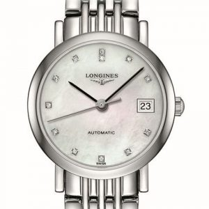 The Longines Elegant Collection L4.309.4.87.6 Automatic Damenuhr