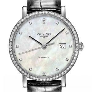 The Longines Elegant Collection L4.310.0.87.2 Automatic Damenuhr
