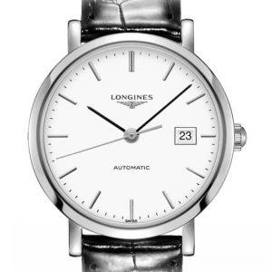The Longines Elegant Collection L4.310.4.12.2 Automatic Damenuhr