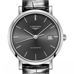 The Longines Elegant Collection L4.310.4.72.2 Automatic Damenuhr