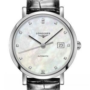 The Longines Elegant Collection L4.310.4.87.2 Automatic Damenuhr