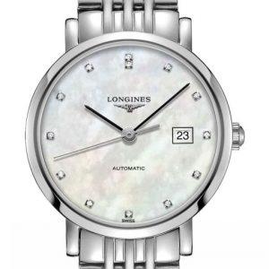 The Longines Elegant Collection L4.310.4.87.6 Automatic Damenuhr
