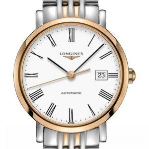 The Longines Elegant Collection L4.310.5.11.7 Automatic Damenuhr