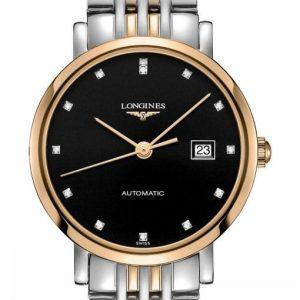 The Longines Elegant Collection L4.310.5.57.7 Automatic Damenuhr