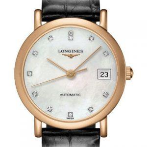The Longines Elegant Collection L4.378.8.87.0 Automatic Damenuhr