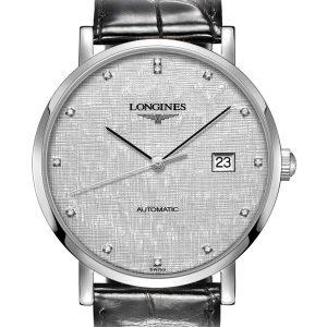 The Longines Elegant Collection L4.910.4.77.2 Automatic Herrenuhr