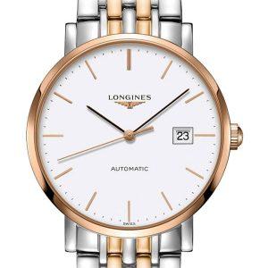 The Longines Elegant Collection L4.910.5.12.7 Automatic Herrenuhr