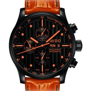 Mido Multifort Chronograph Black M005.614.36.051.22 Special Edition II