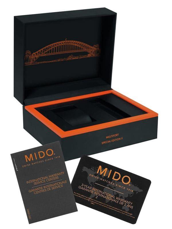 MIDO Uhren Box Multifort SE II