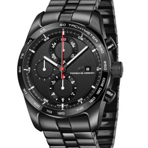 Porsche Design Chronotimer Series 1 Polished Black 4046901408701 / 6010.1.06.001.03.2