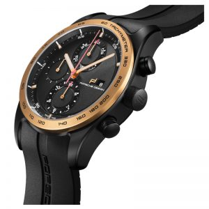 Porsche Design Chronotimer Series 1 Sportive Black & Gold 4046901408794 / 6010.1.03.004.05.2