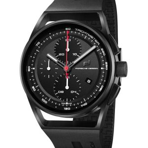 Porsche Design 1919 Chronotimer Black & Rubber 4046901418250 / 6020.1.02.003.06.2