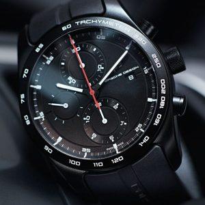 Porsche Design Chronotimer Series 1 Sportive Black 4046901986049 / 6010.1.01.001.06.2