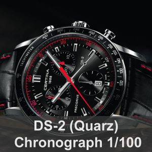 DS-2 Chronograph 1/100 Sekunde (Quarz)