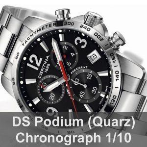 DS Podium Chronograph 1/10 Sekunde (Quarz)