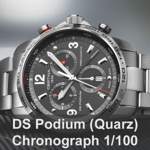 DS Podium Chronograph 1/100 Sekunde (Quarz)