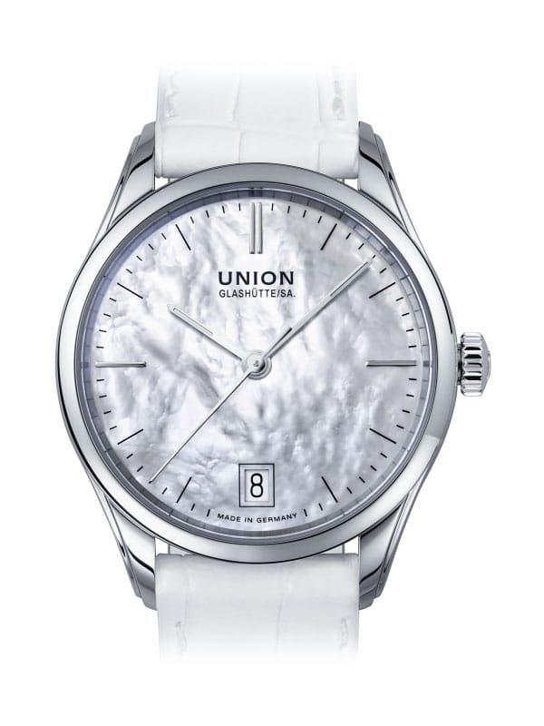 Union Glashütte Viro Datum 34mm D011.207.16.111.00 Damenuhr