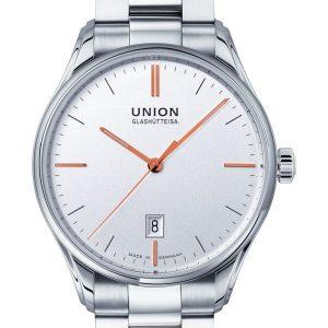 Union Glashütte Viro Datum 41mm D011.407.11.031.01 Herrenuhr